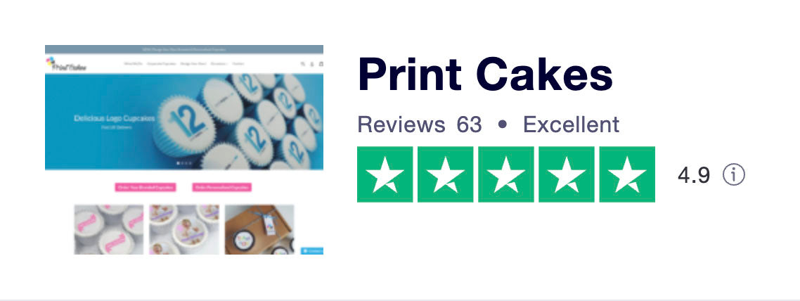 BRANDED CUPCAKE REVIEWS