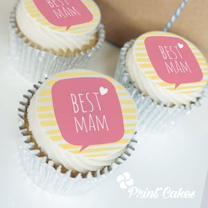 Buttercream Best Mam Cupcake Gift Box