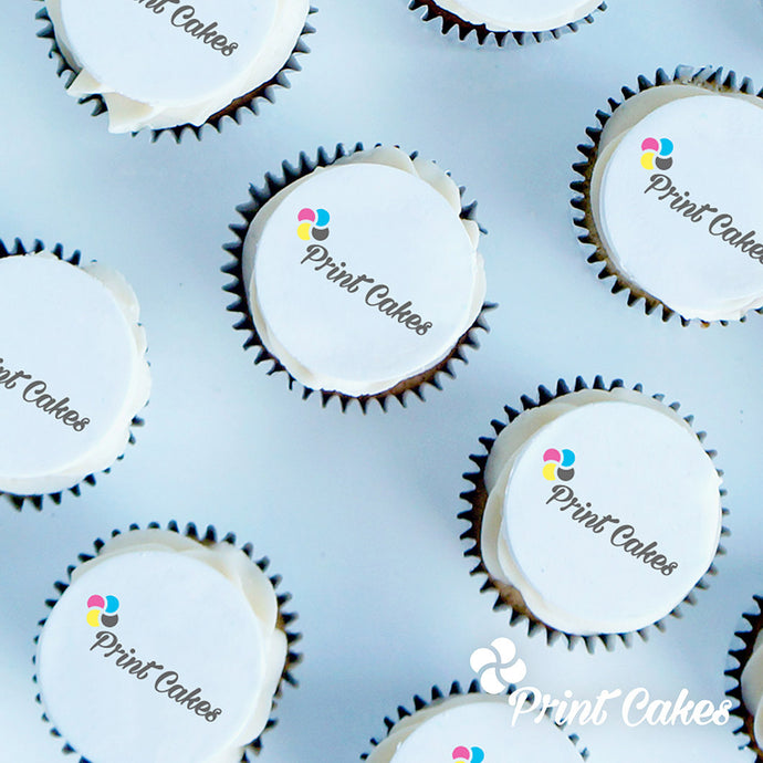 logo cupcakes delivered in the uk