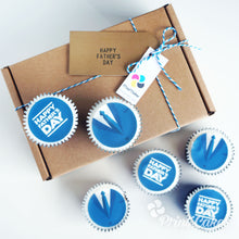 Gift box for Father's Day Cupcakes