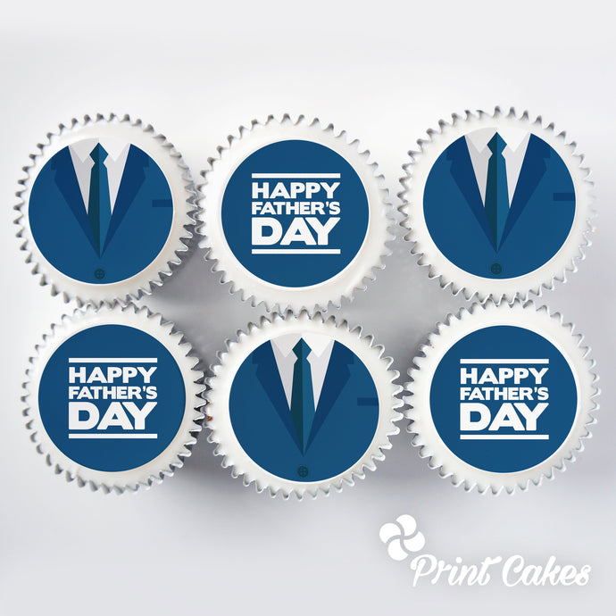 Father's Day Cupcake Gift Box with UK Delivery
