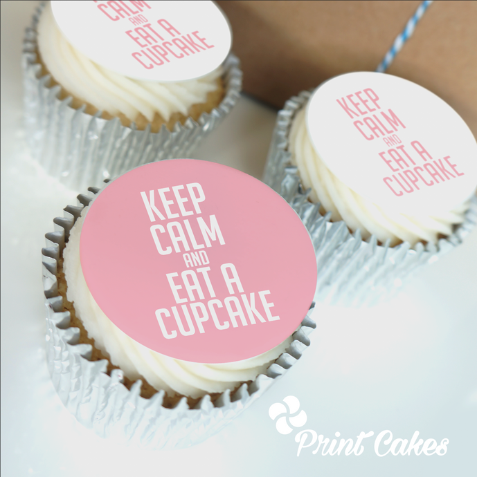 Keep Calm Cupcakes Gift Box