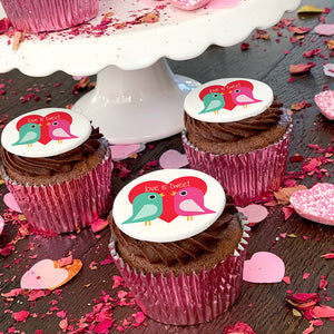 Love Is Tweet Cupcake Gift Box
