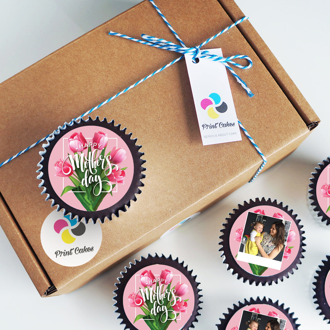 Perfect Personalised Mother's Day Cupcakes