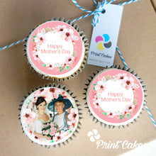 Buttercream Personalised Mother's Day Cupcakes