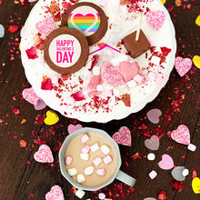 rainbow valentines day gift box uk delivery LGBT