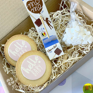baby shower new baby hot chocolate gift box
