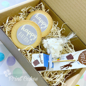hot chocolate biscuit lockdown gift box