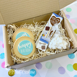 hot chocolate biscuit gift box