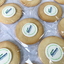 branded logo biscuits delivered