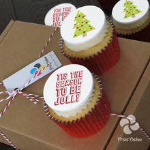Be Jolly Buttercream Cupcake Gift Box