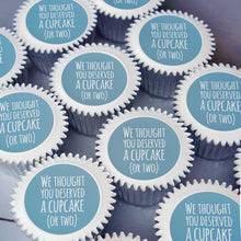 We thought you deserved a cupcake gift - Blue