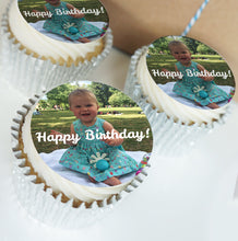 Personalised Buttercream Cupcakes | 1 Design