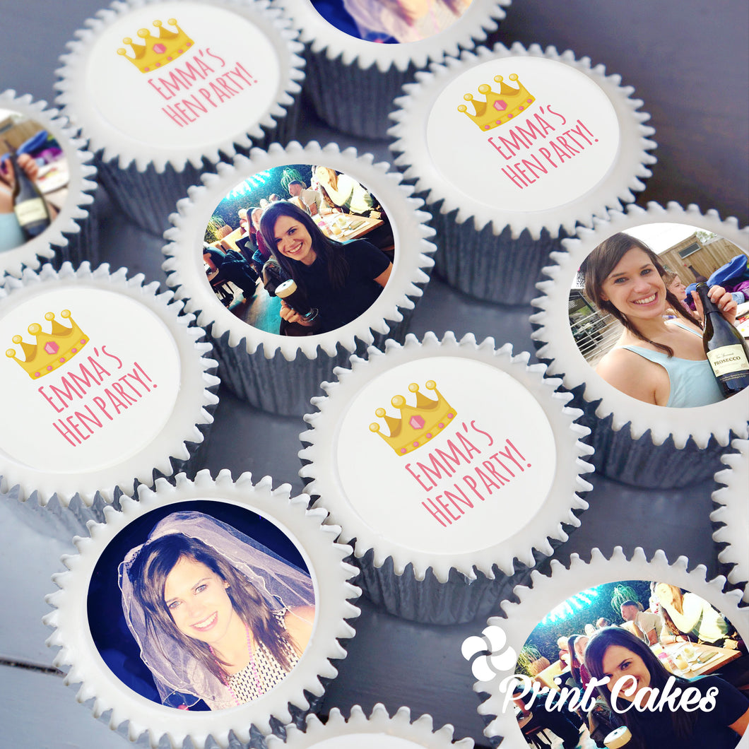 Photo Hen Party Cupcakes