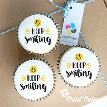 Keep Smiling Cupcake Gift Box