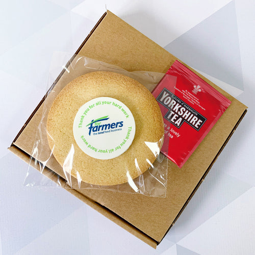 key worker biscuit gift box
