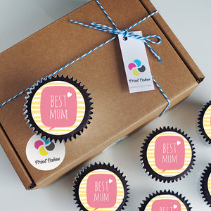 Mother's Day Cupcake gift box delivered