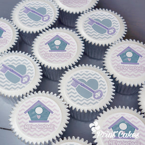 New home gift cupcake gift box delivered in the UK