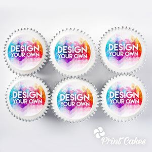 personalised photo cupcake gift boxes