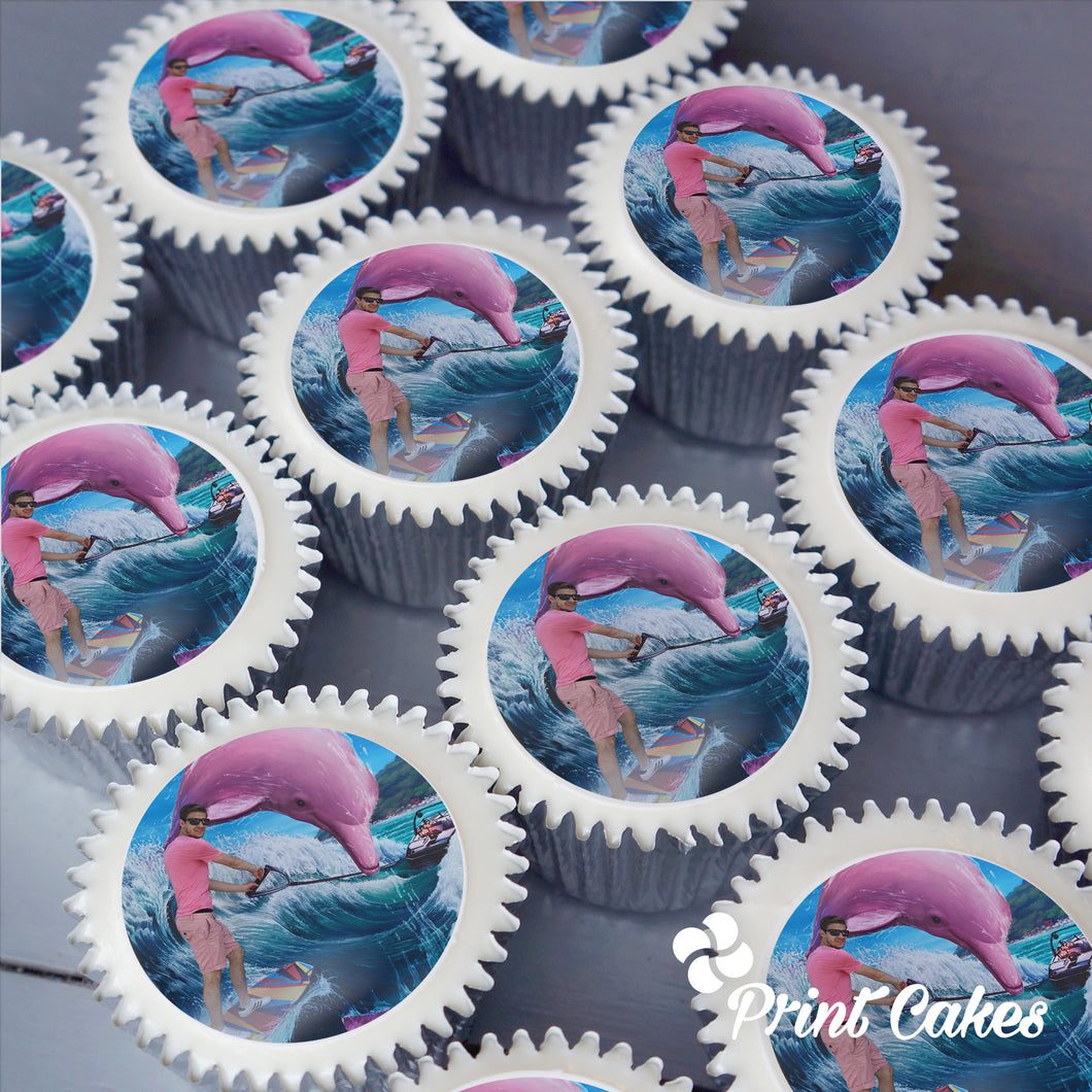 photo upload printed cupcakes.
