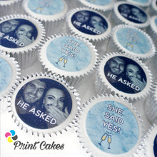 edible photo cupcakes for personalised gifts and events