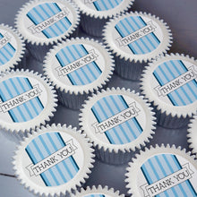 Blue Thank You Cupcake Gift Box with UK delivery