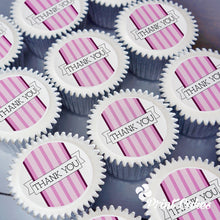 Pink Thank You Cupcake Gift Box with UK delivery