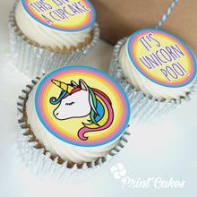 unicorn poo cupcake gift box with uk delivery