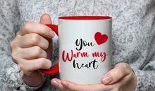 Valentine's Day Hot Cocoa, Mug & Cupcake Gift Box