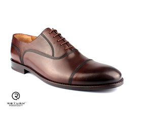 RJ 49204 | Brown Oxford Cap Toe