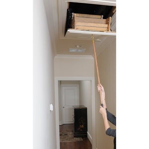 Attic Ease Ladder Pull System Kit - Brass Finish