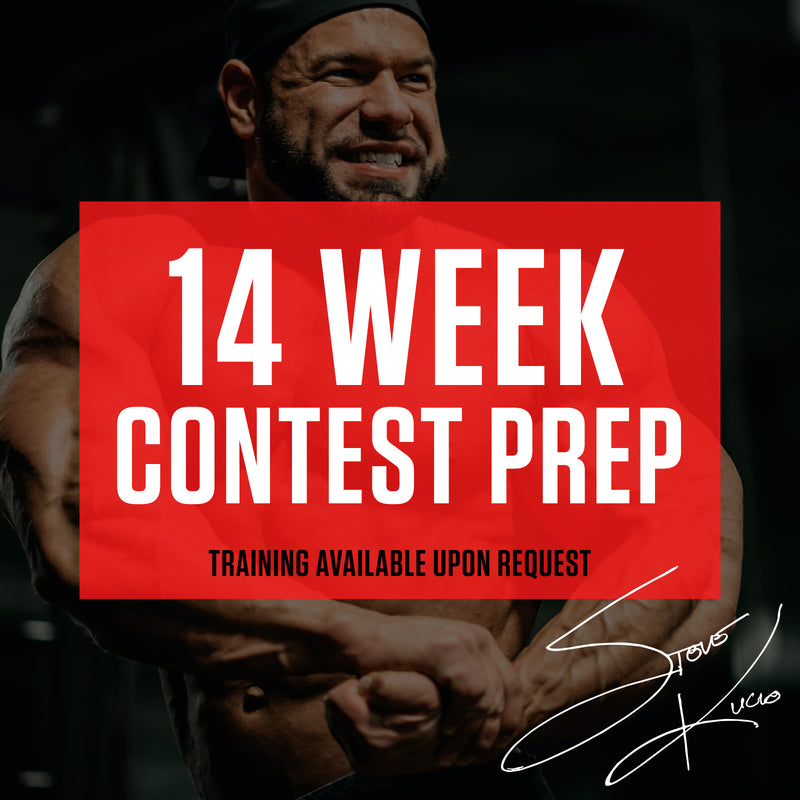 14 Week Contest Prep Diet Plan