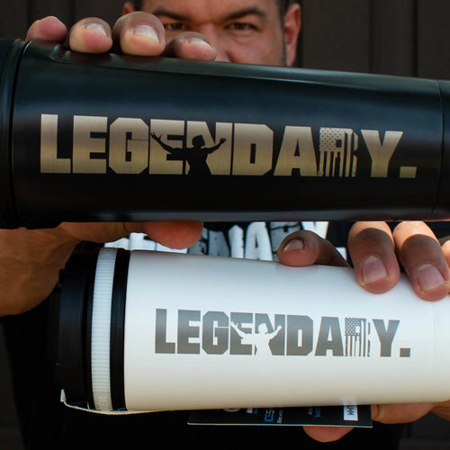 """LEGENDARY"" Limited Edition KingSnake Insulated Shaker Bottle"