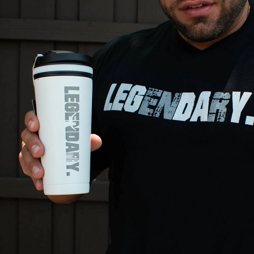 """LEGENDARY"" Limited Edition KingSnake 26oz Insulated Shaker Bottle"