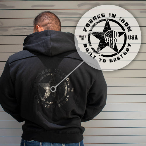 Forged in Iron Hoodie