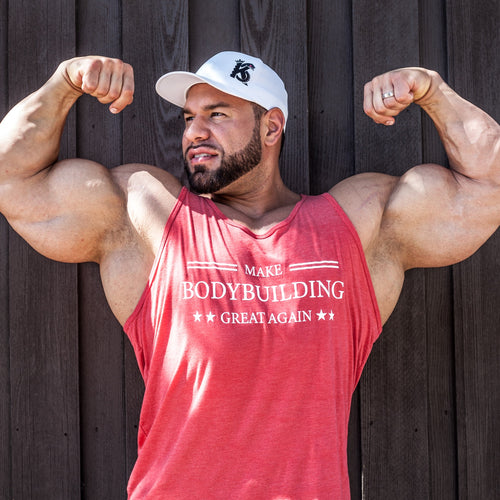 Make Bodybuilding Great Again Limited Edt. Patriot Red- Tank