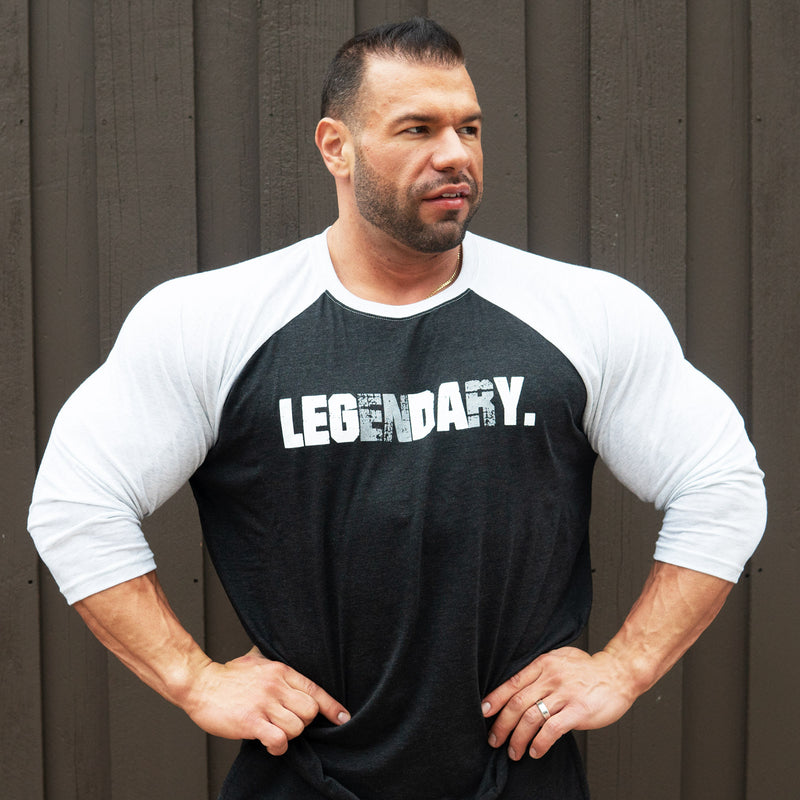 "Legendary ""Leg Day"" 3/4 Tee"