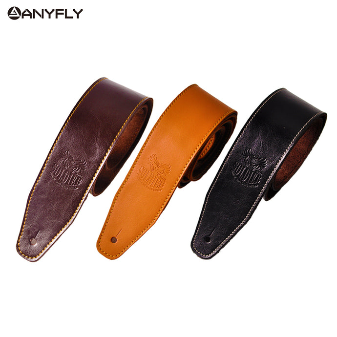 Adjustable Leather Guitar Strap