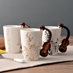 Unique Musical Mugs