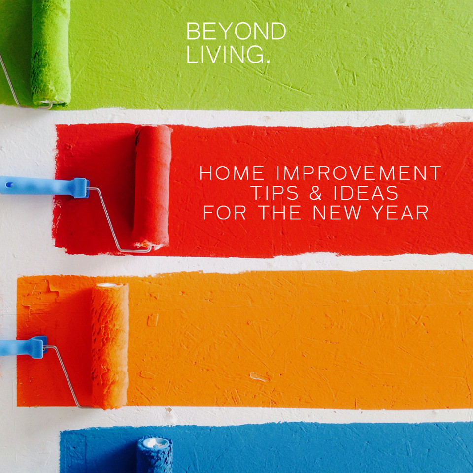 Home Improvement Tips & Ideas For The New Year