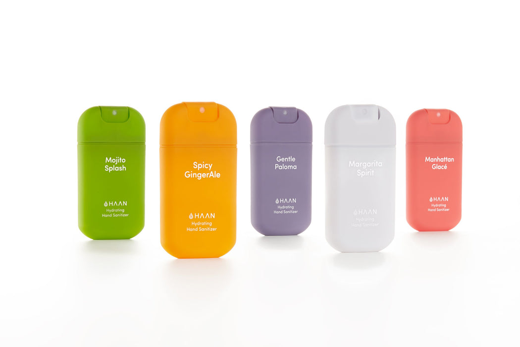 Haan Hand Sanitizer - Shake It Up Bundle (5 Fragrances - 30ml Spray Bottles)