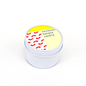 To : From Soy Wax Scented Candle Tin - Banana - Beyond Living