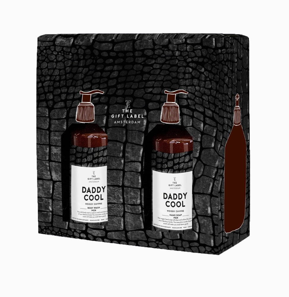 The Gift Label - Father's Day body & hand wash Gift Set 'Daddy Cool' Limited sedition for 2020