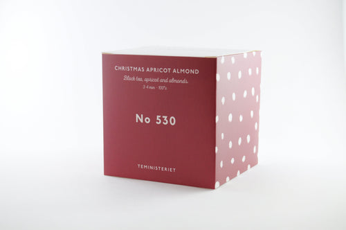 Tea Ministry Christmas Apricot Almond No. 530 Loose Tea leaves - Beyond Living