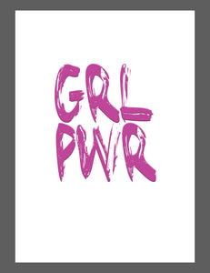 Mina Prints - Wall Art - Girl Power