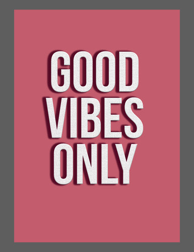 Mina Prints - Wall Art - Good Vibes