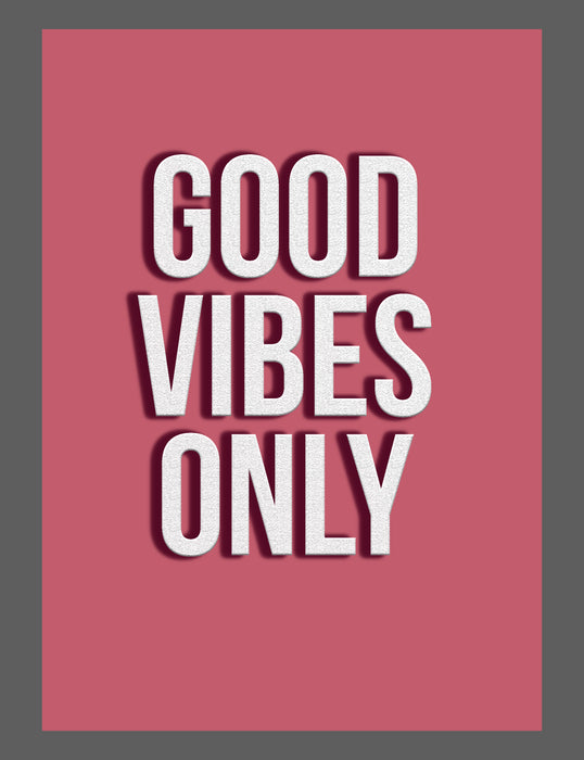 Mina Prints - Wall Art - Good Vibes - Beyond Living
