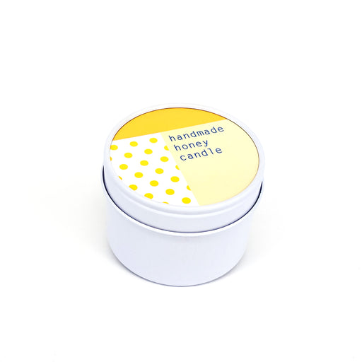To : From Soy Wax Scented Candle Tin - Honey - Beyond Living