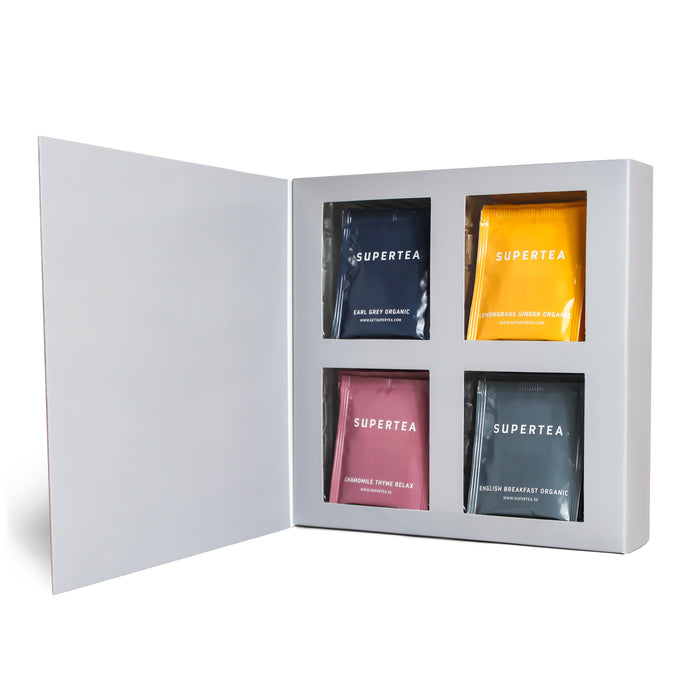 Supertea Variety Gift Set- 32 Sachets - Beyond Living