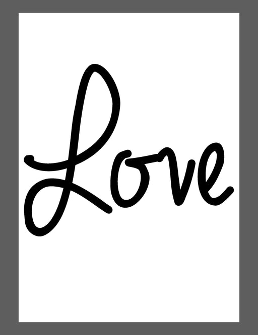 Mina Prints - Wall Art - Simply Love - Beyond Living